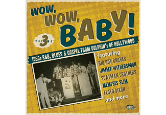 VARIOUS - Wow, Wow, Baby! 1950s R&B, Blues & Gospel From Dolphin [CD]