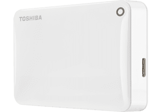 TOSHIBA Canvio Connect II, 2 TB, Weiß, Externe Festplatte, 2.5 Zoll