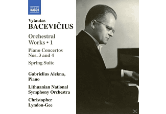 Gabrielius  - Lithuanian Na Alekna - Orchesterwerke Vol.1 - (CD)