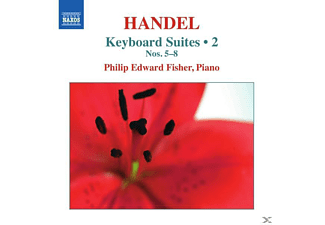 Philip Edward Fisher - Suiten Für Tasteninstrumente 5-8 - (CD)
