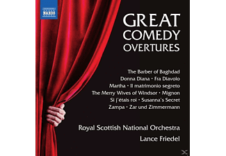 Royal Scottish National Orchestra - Great Comedy Overtures [CD]