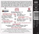 Isasi Quartet - Streichquartette 1+5 [CD] jetztbilligerkaufen