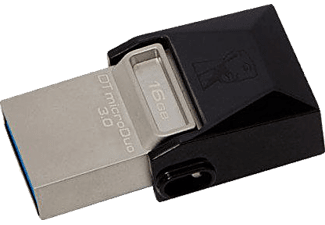 KINGSTON 16GB Data Traveler MicroDuo USB 3.0 Micro USB Bellek OTG DTDUO3/16GB