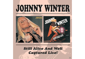 Johnny Winter - Still Alive/Captured Live [CD]