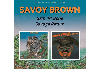 Savoy Brown - Skin'n'bone/Savage Return - (CD)