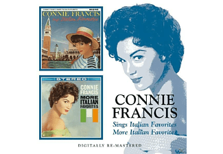 Connie Francis - Sings Italian Favorites/More - (CD)