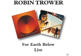 Robin Trower - Live/For Earth Below - (CD)