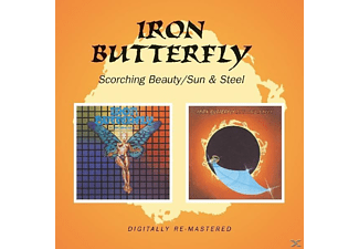 Iron Butterfly - Scorching Beauty/Sun & Steel - (CD)