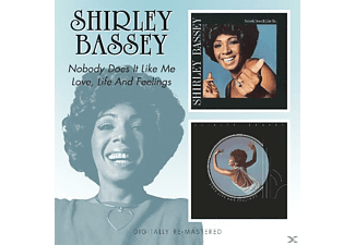 Shirley Bassey - Nobody Does It Like Me/Love, Life And Feelings/Rem [CD]
