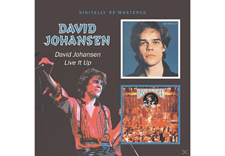 David Johansen - David Johansen/Live It Up - (CD)