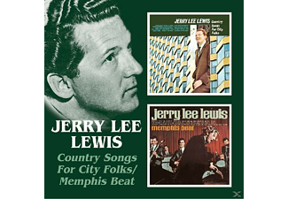 Jerry Lee Lewis - Country Songs For City Folks/Memphis Beat - (CD)
