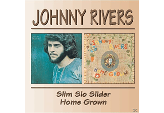 Johnny Rivers - Slim Slo Slider/Homegrown - (CD)