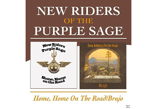 New Riders Of The Purple - Home, Home On The Road/Brujo - (CD)