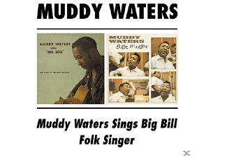 Muddy Waters - Folk Singer/Sings Big Bill - (CD)