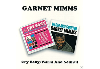 Garnet Mimms - Cry Baby/Warm And Soulful - (CD)