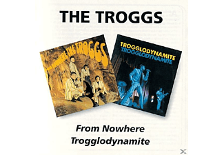 The Troggs - From Nowere/Trogglodynamite [CD]