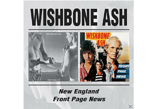 Wishbone Ash - New England/Front Page News [CD]