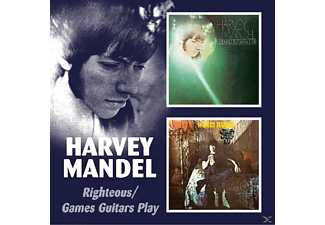 Harvey Mandel - Righteous/Games Guitars Play - (CD)