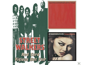 Streetwalkers - Red Card/Vicious But Fair - (CD)