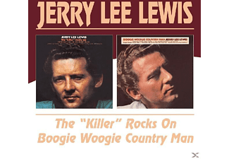 Jerry Lee Lewis - The 'killer' Rocks On/Boogie Woogie Country Man - (CD)
