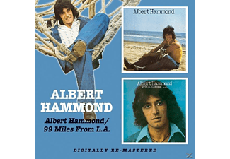 Albert Hammond - Albert Hammond/99 Miles From - (CD)