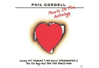 Phil Cordell - Hearts On Fire-Anthology - (CD)