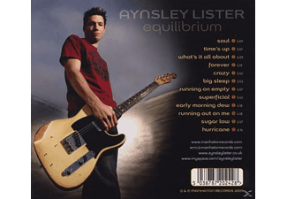 Aynsley Lister - Equilibrium [CD]