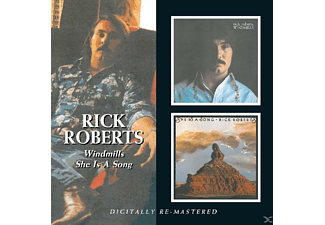 Rick Roberts - Windmills/She Is A Song [CD]