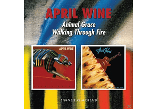April Wine - Animal Grace/Walking Through Fire [CD]