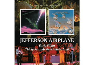 Jefferson Airplane - Thirty Seconds Over Winterland/Early Flight - (CD)