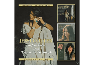Jessi Colter - I'm Jessi Colter/Jessi/Diamond In The Rough - (CD)