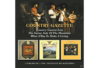 The Country Gazette - Country Gazette Live/Sunny Side Of The Mountain/Wh - (CD)