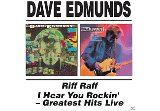 Dave Edmunds - Riff Raff & I Hear You Rockin' - (CD)