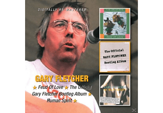 Gary Fletcher - Feud Of Love/Bootleg Alb/Human Spirit - (CD)