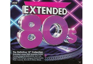 VARIOUS - Extended 80s - (CD)