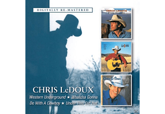 Chris Dedoux - Western Underground/Whatcha Gonna Do With A Cowboy [CD]