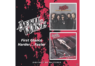 April Wine - First Glance/Harder..Fast - (CD)