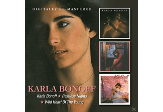Karla Donoff - Karla Bonoff/Restless Nights/Wild Heart Of The You [CD]