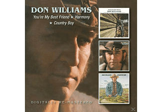 Don Williams - You're My Best Friend/Harmony/Country Boy - (CD)