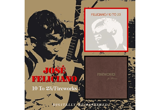 José Feliciano - 10 To 23/Fireworks - (CD)
