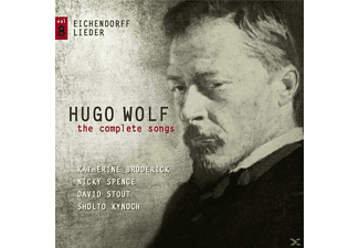 Katherine  Broderick - Hugo Wolf-The Complete Songs Vol.8 - (CD)