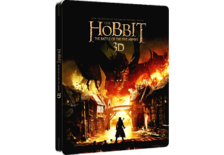 The Hobbit: The Battle of the Five Armies 3D Limited Collector's Edition Steelbook Blu-ray