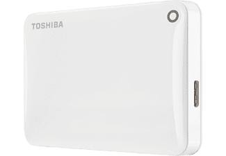 TOSHIBA Canvio Connect II 2ΤΒ USB 3.0 White - (HDTC820EW3CA)