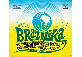 VARIOUS - Brazilika (The Best Of Far Out) (2cd+Poster) [CD]