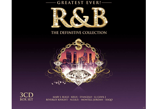 VARIOUS - R&B-Greatest Ever - (CD)