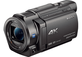 SONY FDR-AX33 Zeiss Camcorder 4K, Exmor R CMOS 8.29 Megapixel, 10x opt. Zoom, Balanced Optical SteadyShot