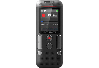 PHILIPS Stereo Voice Recorder Diktiergerät 8 GB