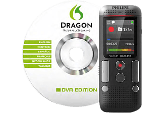 PHILIPS Stereo mit Dragon Spracherkennungssoftware Diktiergerät 8 GB