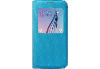 SAMSUNG S-view Cover Galaxy S6 Fabric Blue - (EF-CG920BLEGWW)