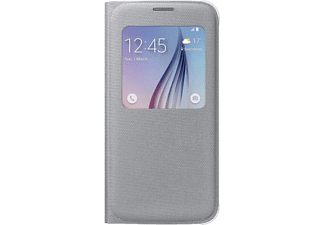 SAMSUNG S-view Cover Galaxy S6 Fabric Silver - (EF-CG920BSEGWW)